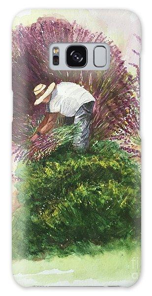 Harvesting Lavender Galaxy Case