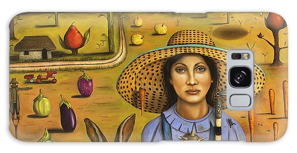 Harvey And The Eccentric Farmer Galaxy Case by Leah Saulnier The Painting Maniac
