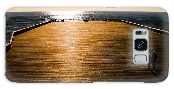Hastings Pier, Hastings, Sussex, England Galaxy Case