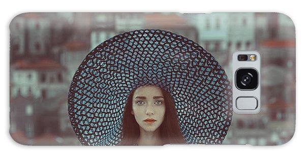 Portraits Galaxy S8 Case - Hat And Houses by Anka Zhuravleva