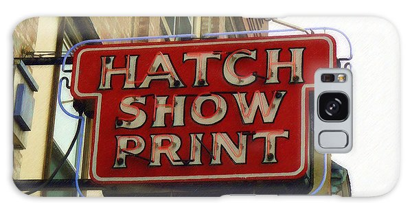 Hatch Show Print Galaxy Case