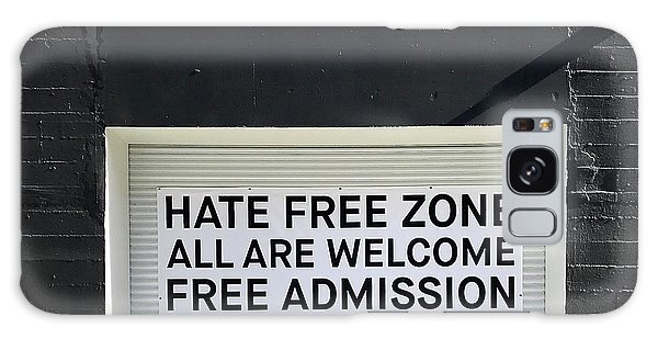 Hate Free Zone Galaxy Case