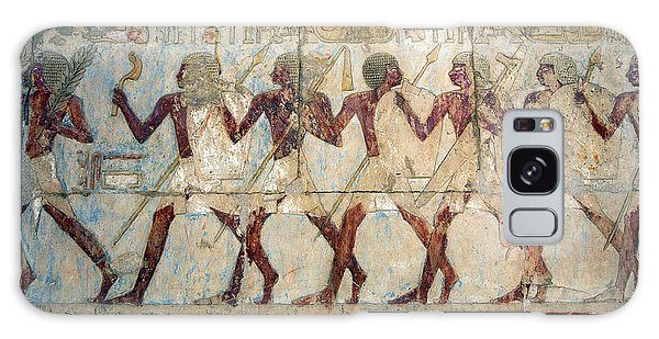 Hatshepsut Temple Parade Of Soldiers Galaxy Case