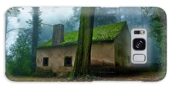 Haunted House Galaxy Case by Jorge Maia