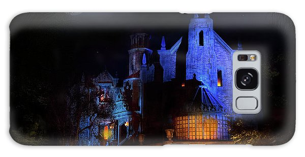 Haunted Mansion At Walt Disney World Galaxy Case by Mark Andrew Thomas