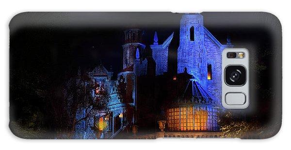 Walt Disney Galaxy Case - Haunted Mansion At Walt Disney World by Mark Andrew Thomas