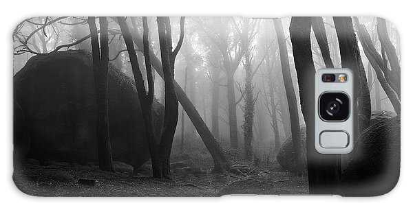 Haunted Woods Galaxy Case by Jorge Maia
