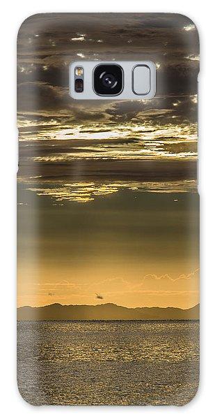 Hauraki Gulf At Sunrise Galaxy Case