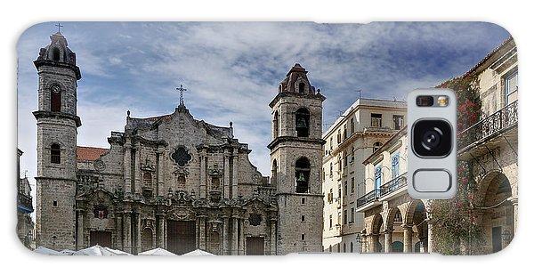 Havana Cathedral. Cuba Galaxy Case