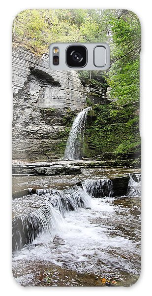 Eagle Cliff Falls II Galaxy Case