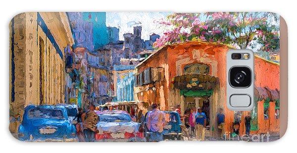 Havana In Bloom Galaxy Case by Les Palenik