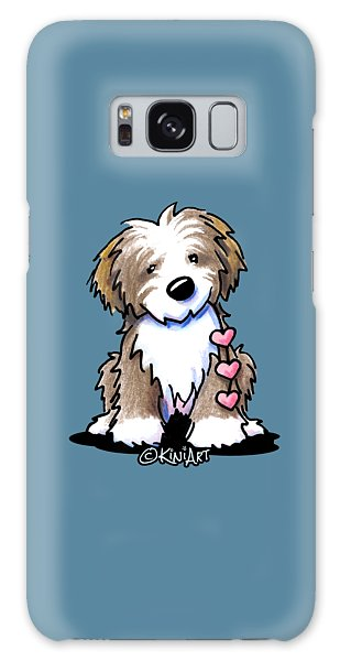 Havanese Heartstrings Galaxy Case