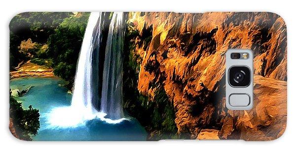 Havasu Waterfall Galaxy Case