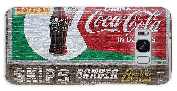 Have A Coca Cola At Skips Barber Shoppe Galaxy Case