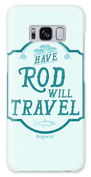 Bahamas Galaxy Case - Have Rod Will Travel Salty by Kevin Putman