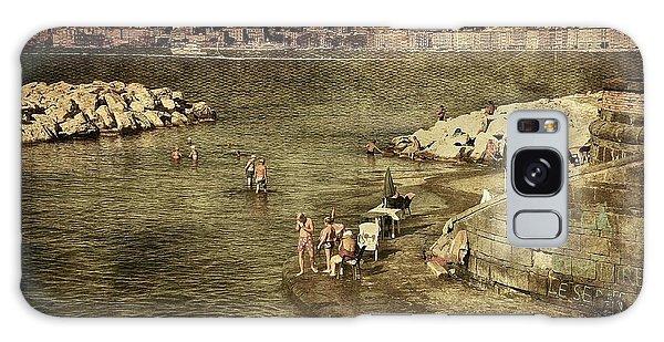 Having A Swim In Naples Galaxy Case