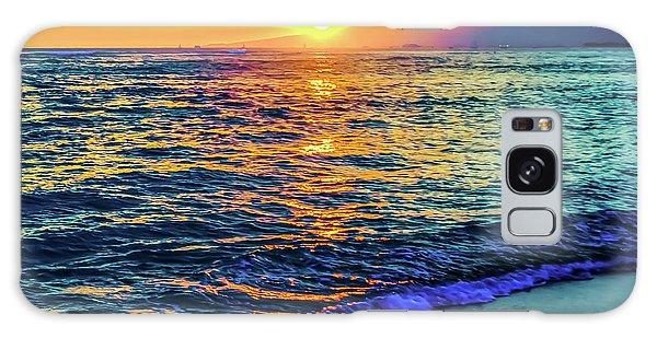Hawaii Beach Sunset 149 Galaxy Case