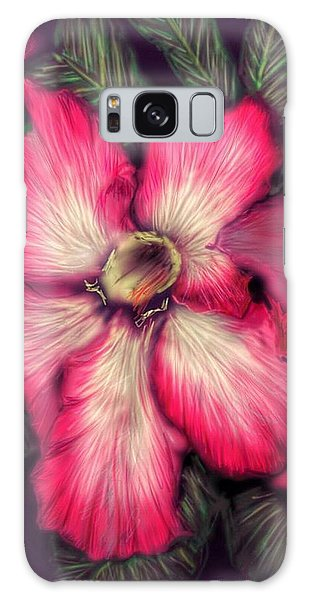 Hawaii Flower Galaxy Case by Darren Cannell