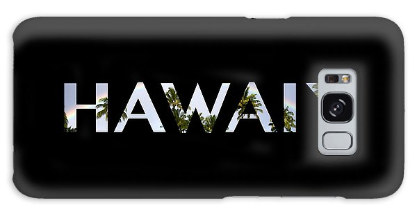 Hawaii Letter Art Galaxy Case by Saya Studios