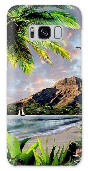 Hawaii Sunset Galaxy Case