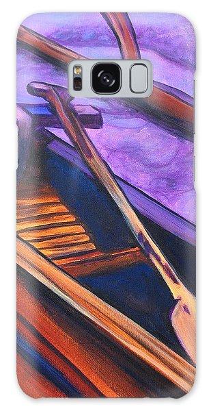 Hawaiian Canoe Galaxy Case by Marionette Taboniar