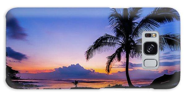 Hawaiian Dawn Colors Galaxy Case