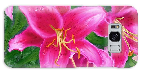 Hawaiian Flowers Galaxy Case