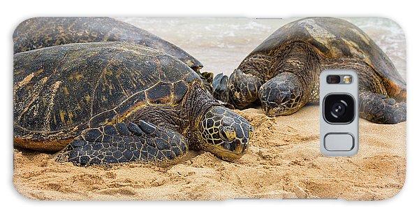 Turtle Galaxy Case - Hawaiian Green Sea Turtles 1 - Oahu Hawaii by Brian Harig