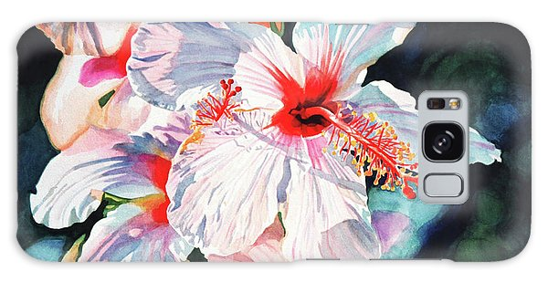 Hibiscus Galaxy Case - Hawaiian Hibiscus by David Lloyd Glover