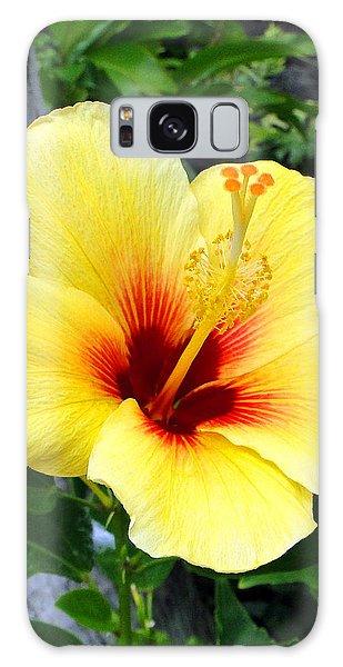 Hawaiian Hibiscus Galaxy Case