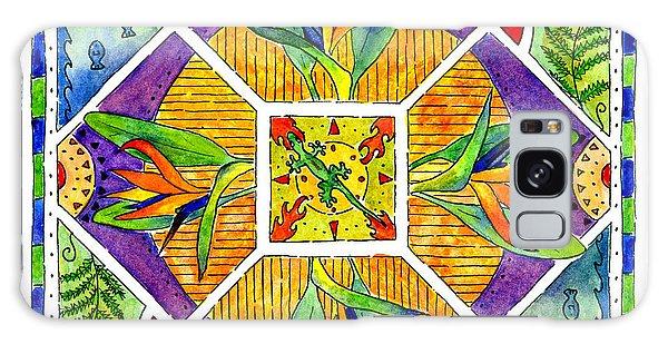 Hawaiian Mandala II - Bird Of Paradise Galaxy Case