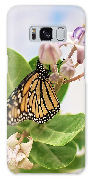 Hawaiian Monarch Galaxy Case by Heather Applegate