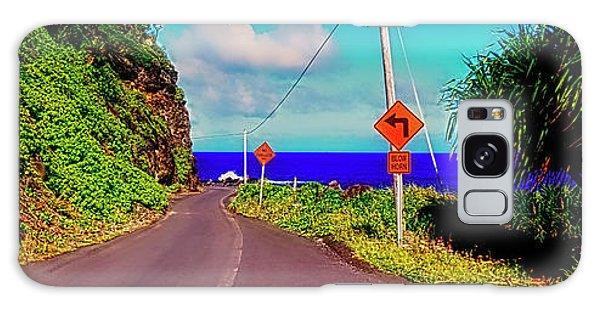 Hawaiian Mountian Road  Galaxy Case
