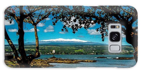 Hawaiian Snow Galaxy Case