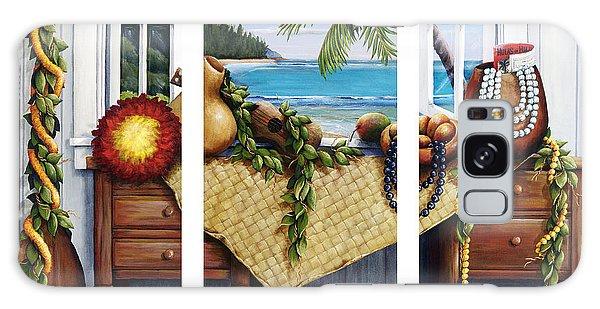 Hawaiian Still Life With Haleiwa On My Mind Galaxy Case