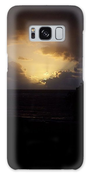 Hawaiian Sunrise Galaxy Case