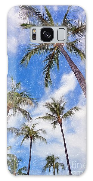 Hawaiian Vacation #4 Galaxy Case