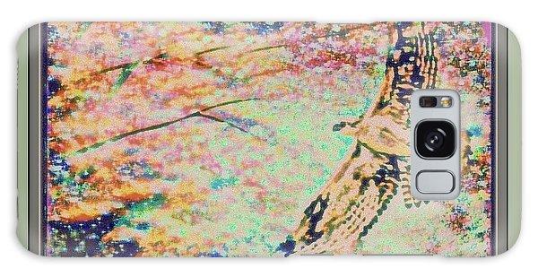 Hawk And Sky Galaxy Case