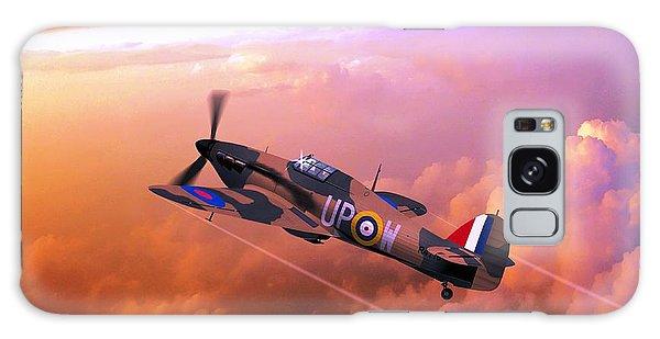 Hawker Hurricane British Fighter Galaxy Case by John Wills