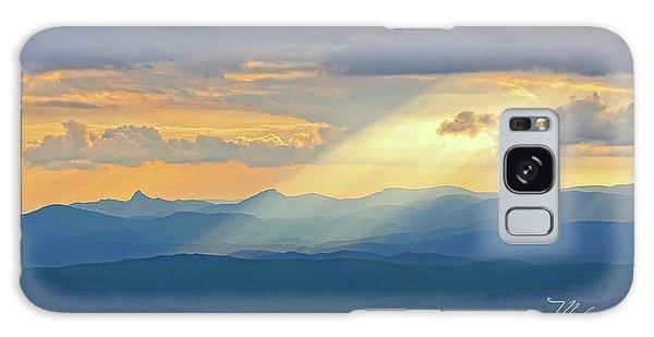 Hawks Bill Mountain Sunset Galaxy Case