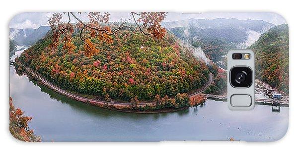 Hawks Nest State Park Autumn Splendor Galaxy Case