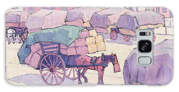 Cart Galaxy Case - Hay Carts - Cumberland Market by Robert Polhill Bevan
