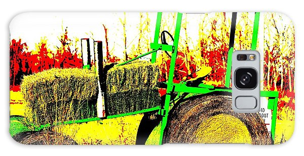 Hay It's A Tractor Galaxy Case
