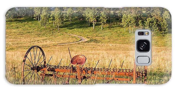 Hay Rake In Morning Sun Galaxy Case