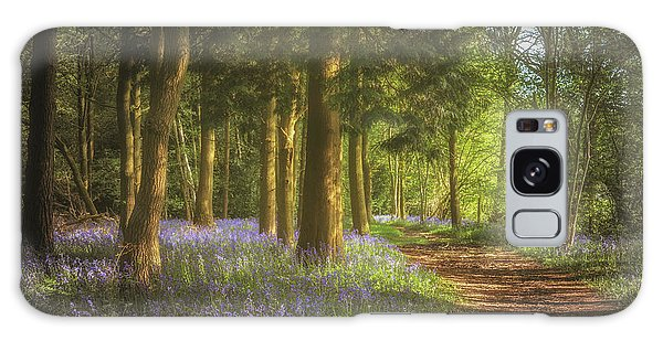 Bluebell Galaxy Case - Hay Wood Bluebells 3 by Chris Fletcher