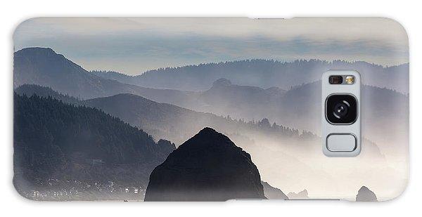 Haystack Rock On The Oregon Coast In Cannon Beach Galaxy Case