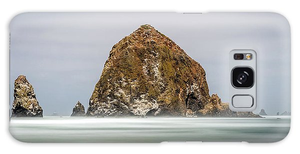Galaxy Case featuring the photograph Haystack Rock Oregon by Pierre Leclerc Photography