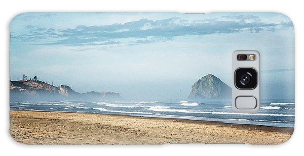 Haystack Rock Pacific City Galaxy Case
