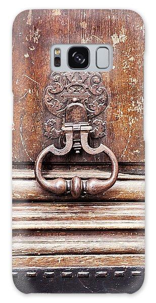 Hazel - Paris Door Photography Galaxy Case by Melanie Alexandra Price