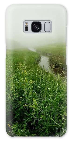 Galaxy Case featuring the photograph Hazy Morning by Sandy Adams